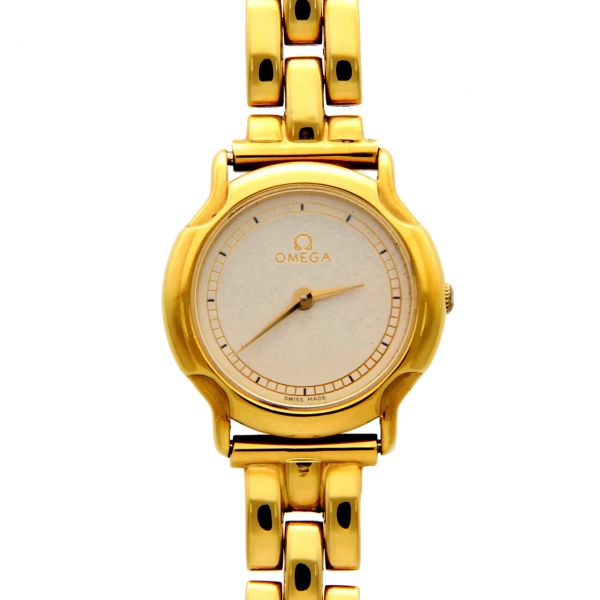 Omega woman yellow gold 22 mm