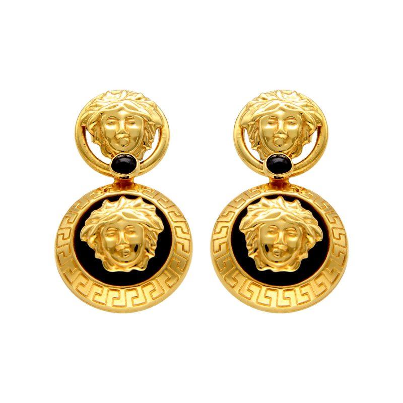 Earrings Versace Yellow gold