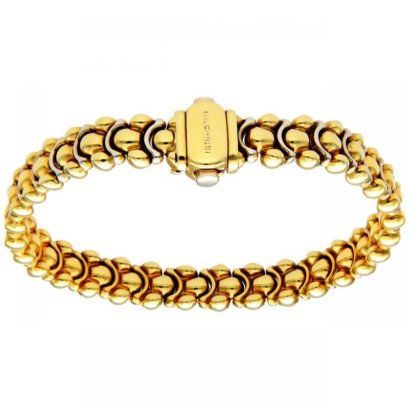 Bracciale oro giallo ''Chimento''