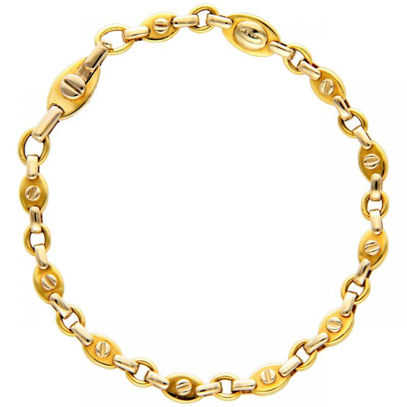 Kria Gelb- und Weißgold Armband