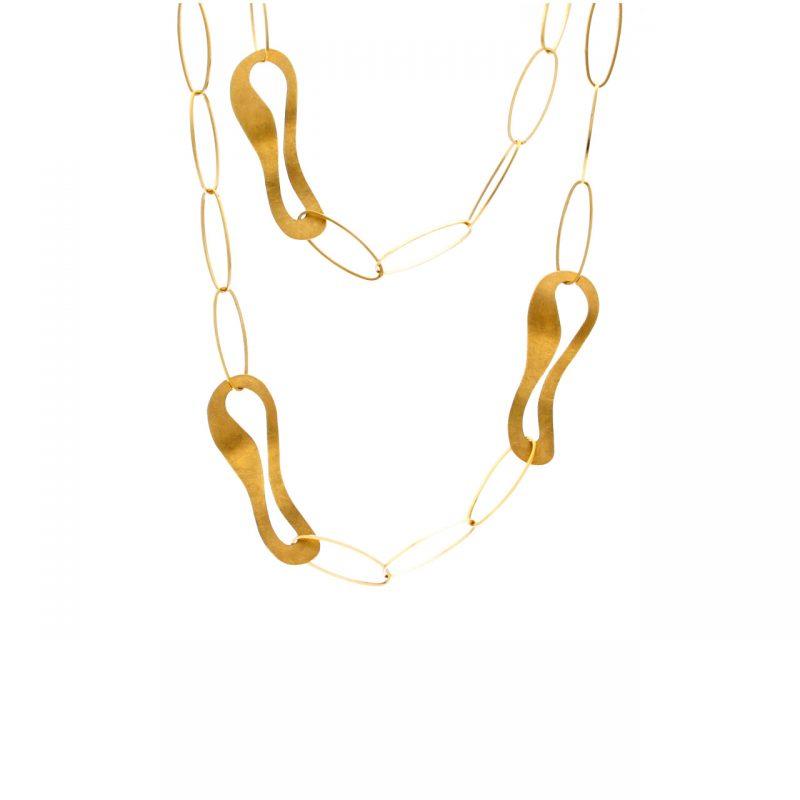 Supergold Gelbgold Halskette