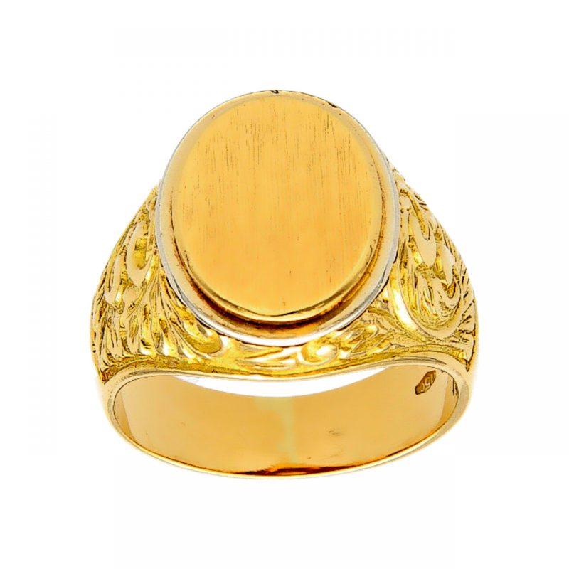 Ring aus Gelbgold