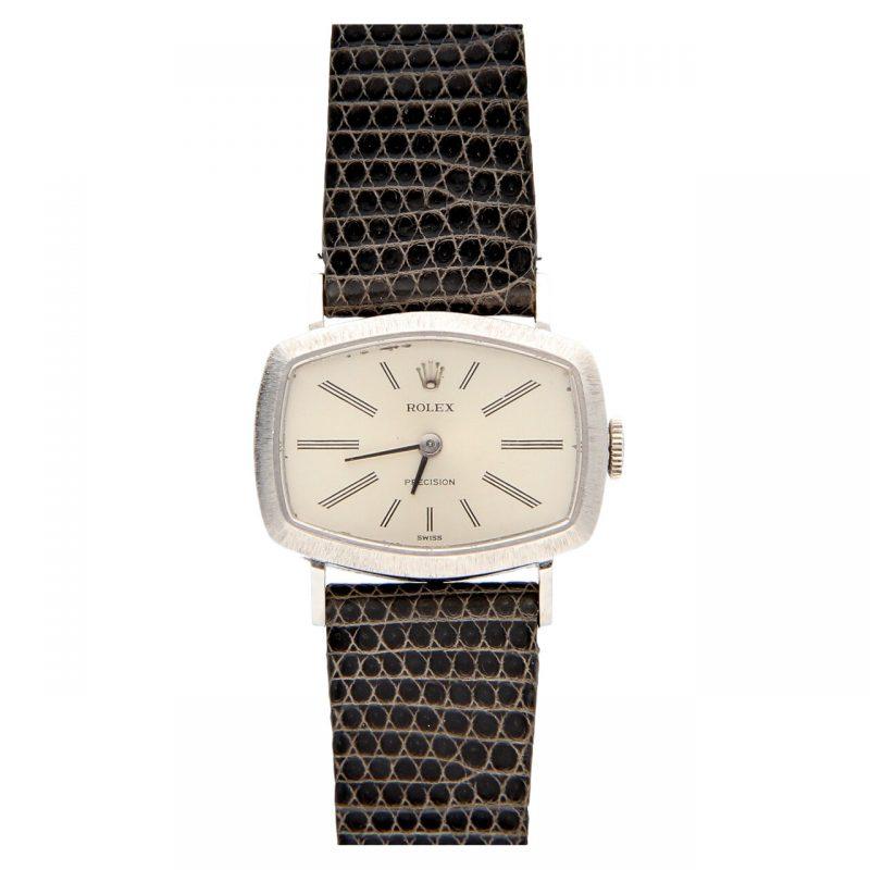 Rolex Vintage white gold