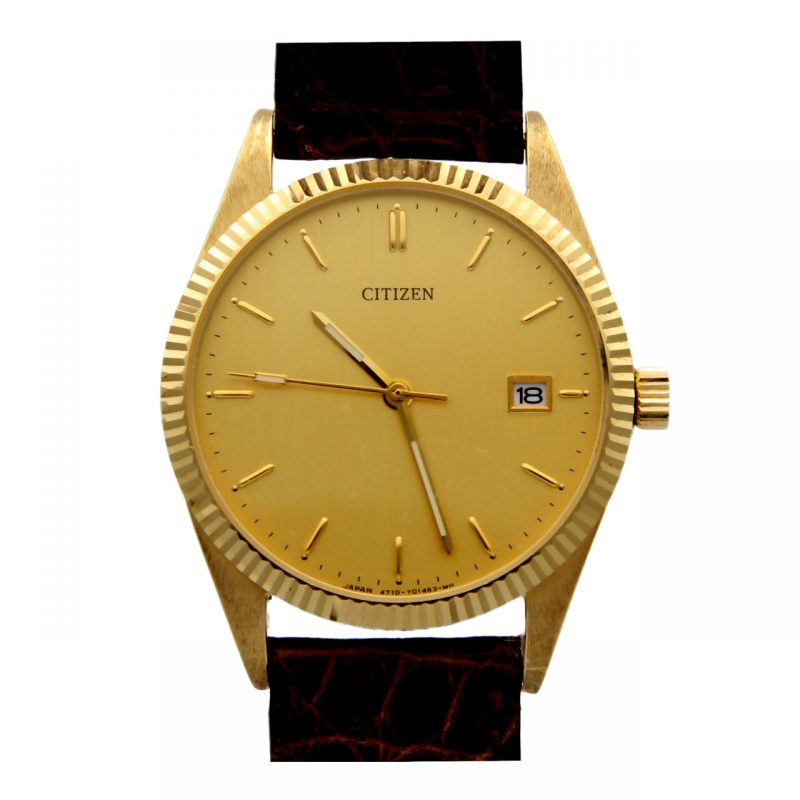 Citzen yellow gold