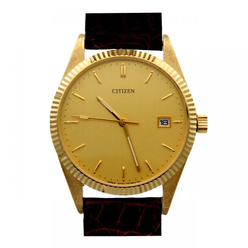 Citzen yellow gold