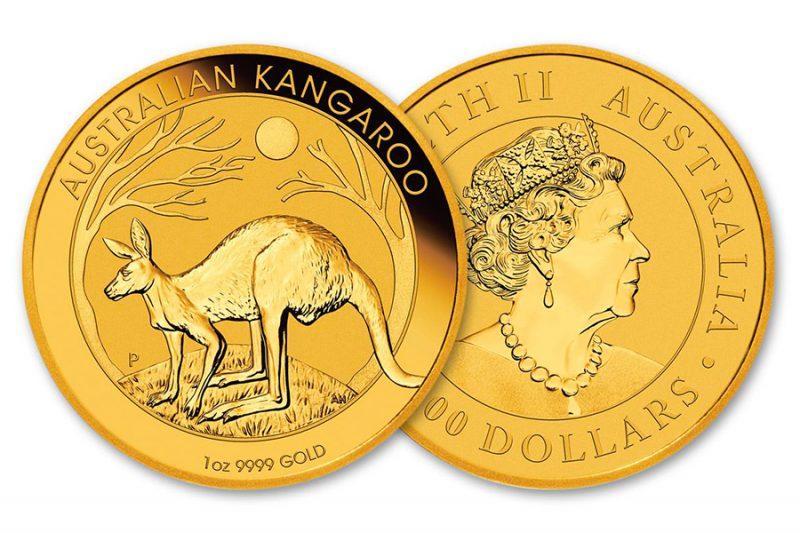 Año 2020 – $100 Canguro dorado Australia  1 Onza