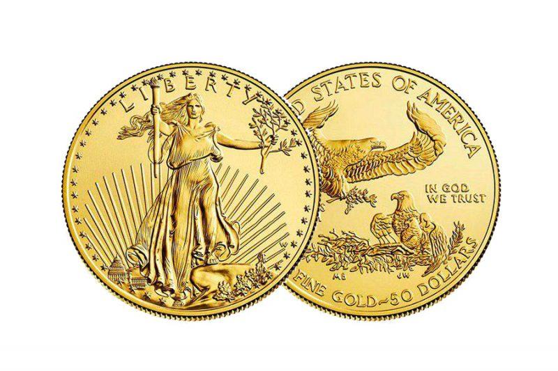 Jahr 2020 – $ 20  American eagle U.S.A. 1 Unze