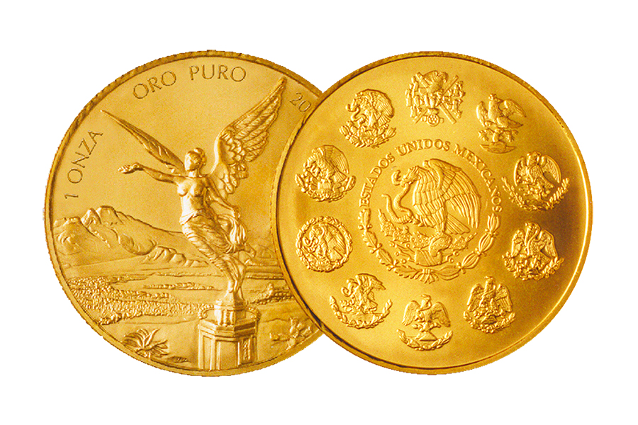1 Libertad gold Mexico 1 Ounce