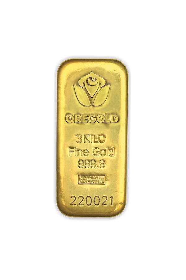 Barren 3000 gr. ARGOR HERAEUS