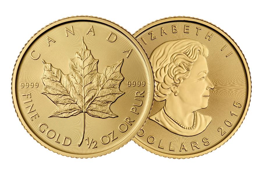 Gemischte Jahre – $ 20 Kanada Ahornblatt 1/2 Unze