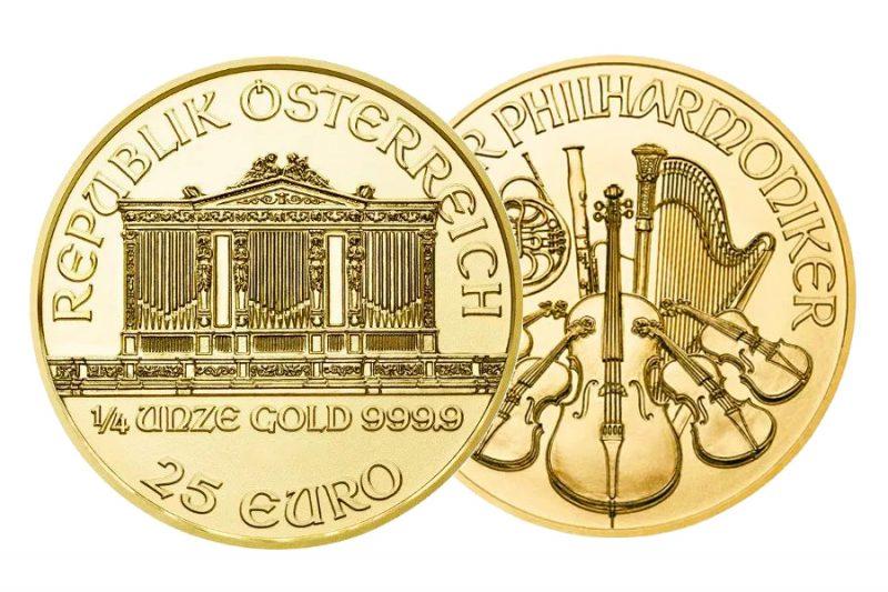 Gemischte Jahre – $ 25 Philharmonic Australia 1/4 Unze