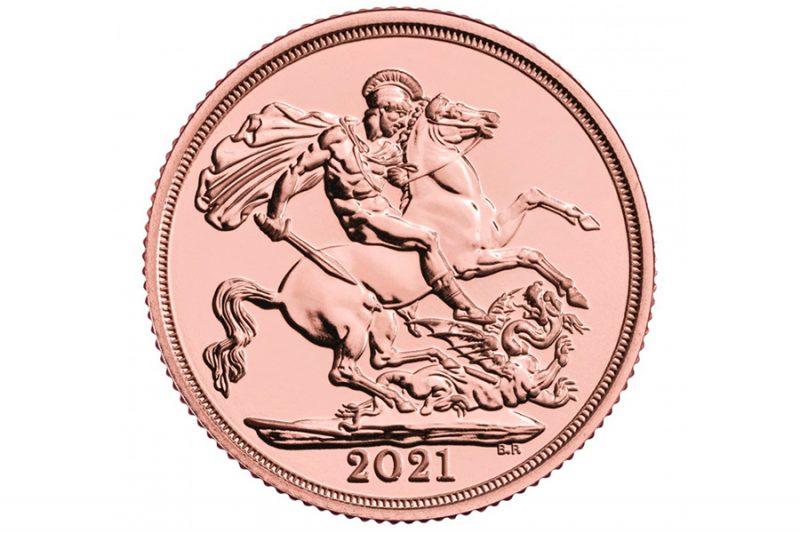 Gold pound 2021
