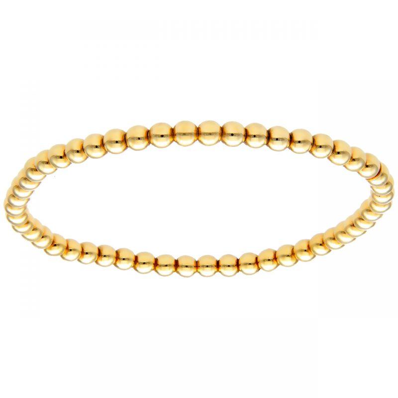 Elastic Bracelet yellow gold