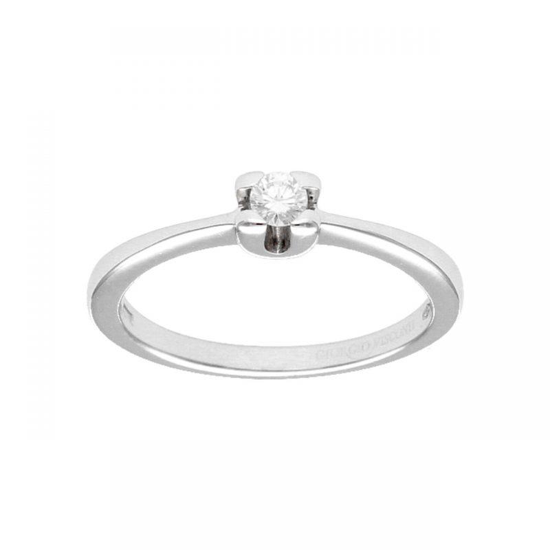 Giorgio Visconti Ring white gold with diamond