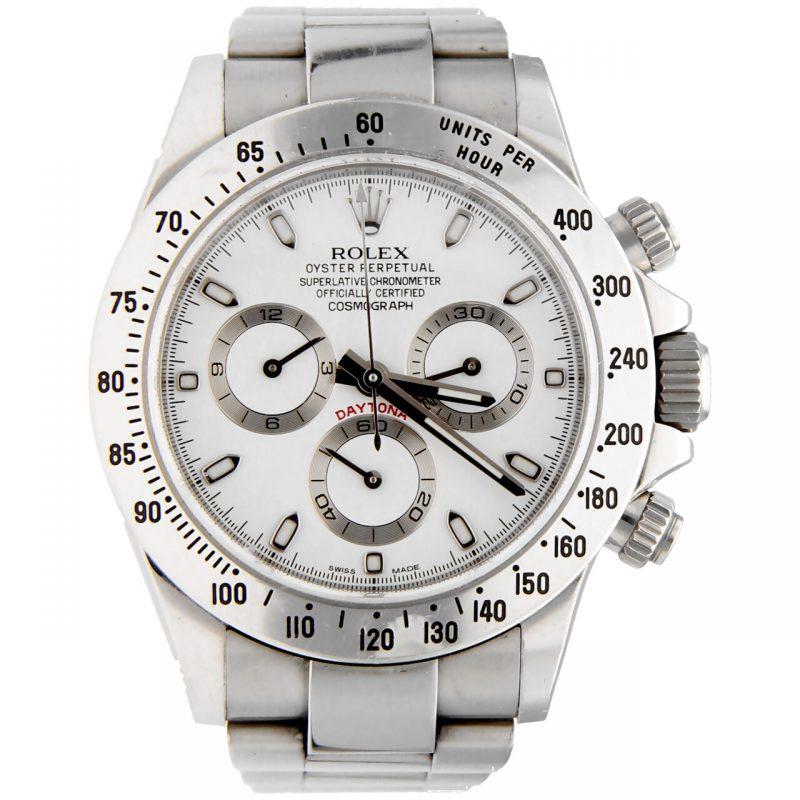 Rolex Daytona White Dial