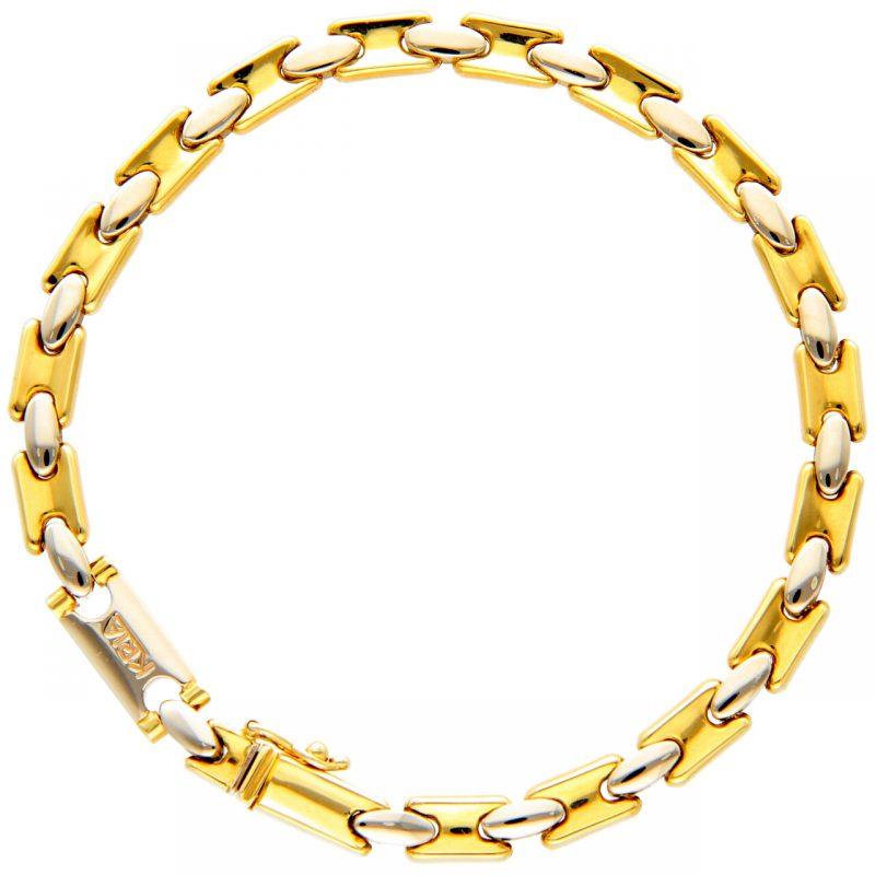 Kria bracelet yellow and white gold
