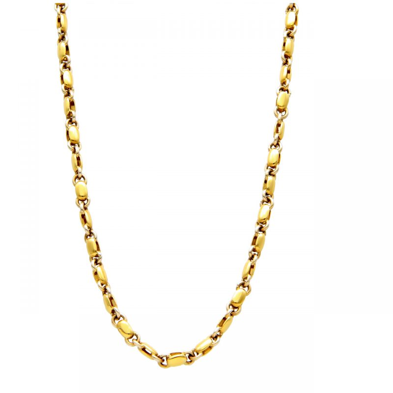 Karisma necklace yellow and white gold