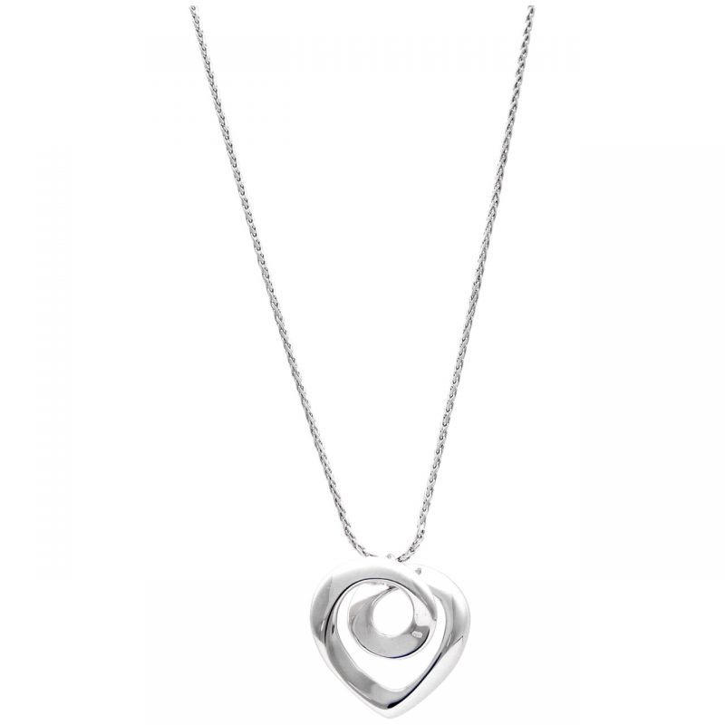 Chimento necklace white gold with heart
