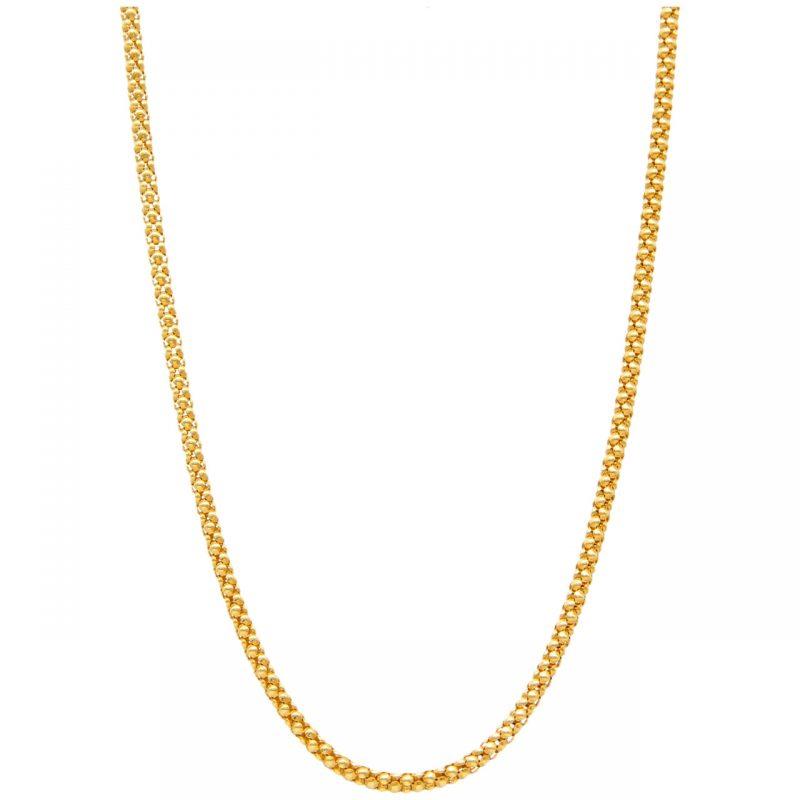 Chimento Halskette aus Gelbgold