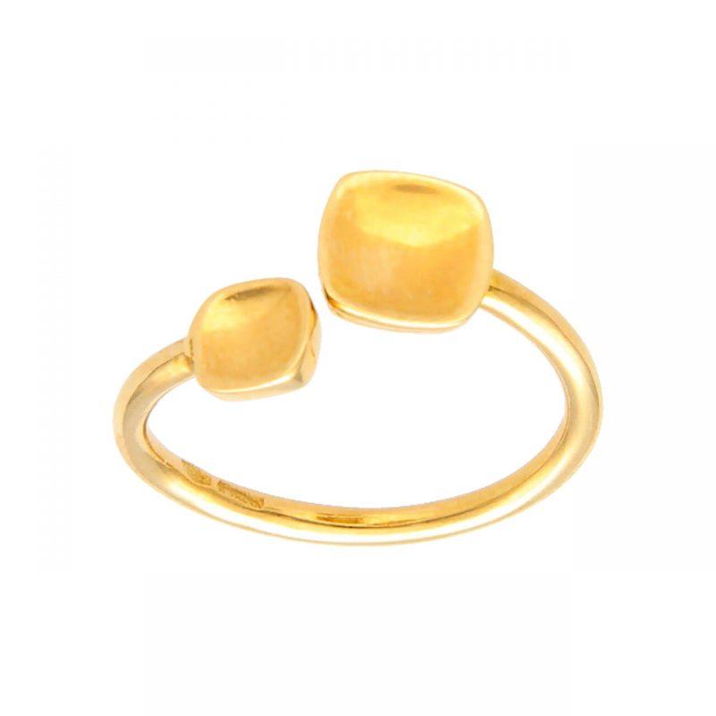 Modernes Gelbgold Ring