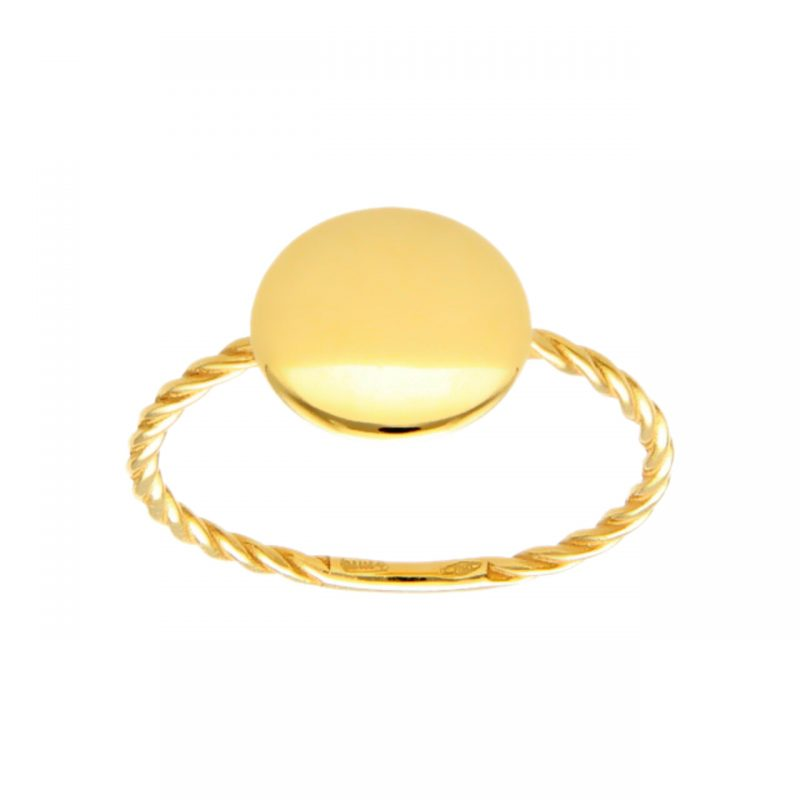 Gelbgold Ring