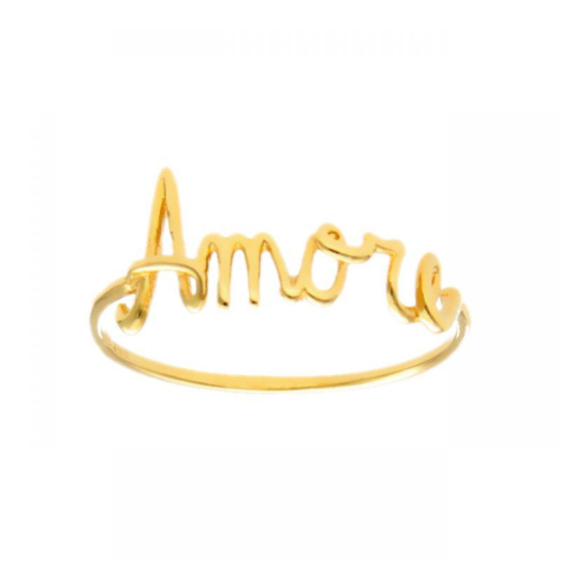 Anillo Amore oro amarillo