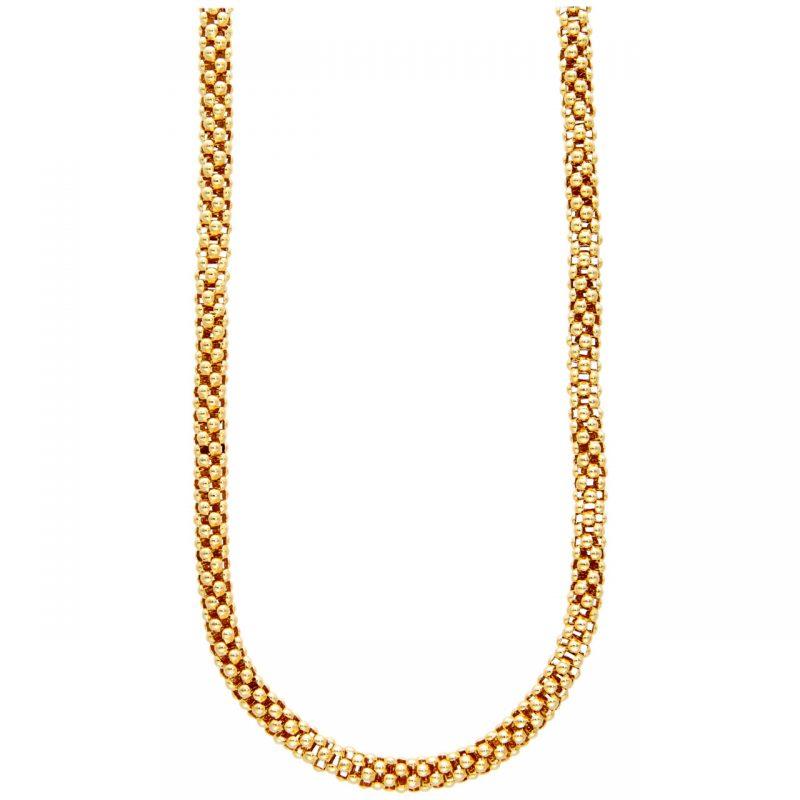 Barakà Halskette aus Gelb- und Weißgold