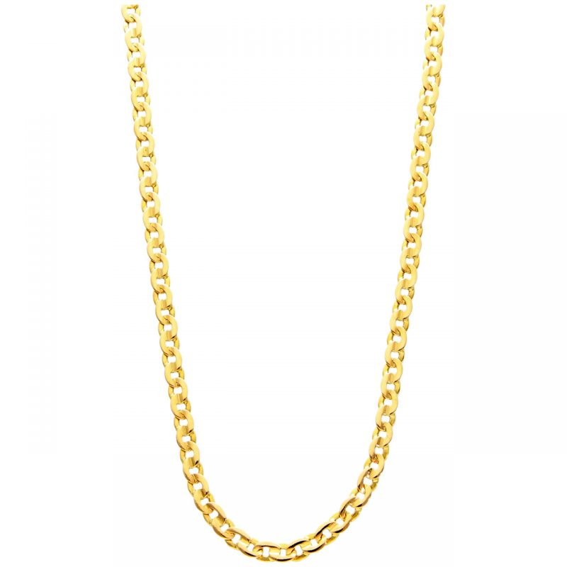 Necklace yellow gold 51 cm
