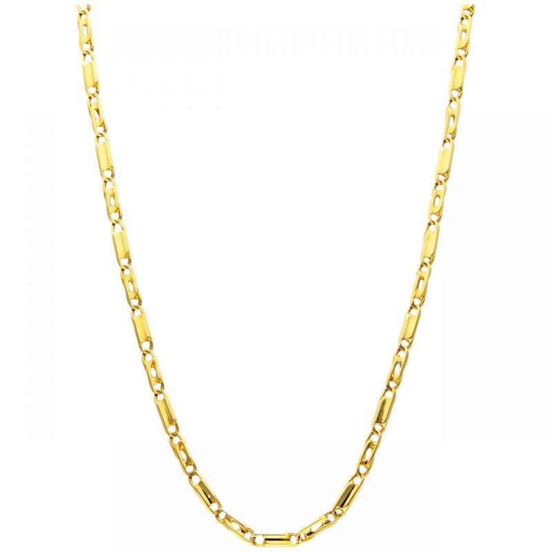Necklace yellow gold 54 cm